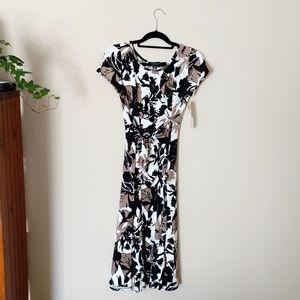 Perceptions New York Cinched Waist Dress MidLength